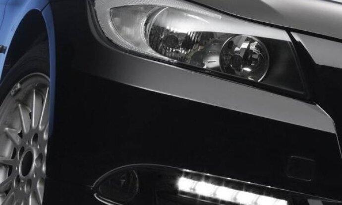 Дневные ходовые огни фото на машине