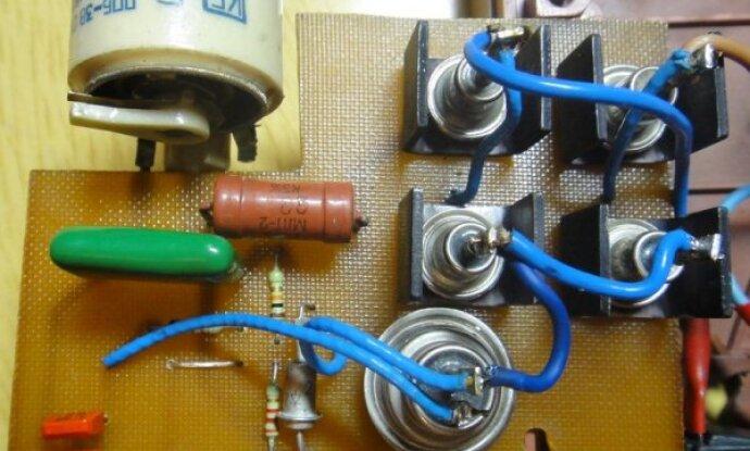 Тиристорное зарядное устройство своими руками