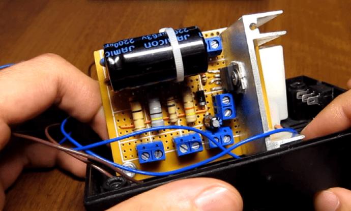 Пуско зарядное устройство своими руками схема