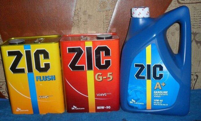 Трансмиссионное масло zic 80w90 синтетика отзывы