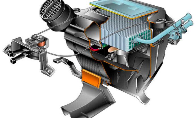 Чем промыть радиатор печки автомобиля монтаж дополнительного насоса замена радиатора и ремонт резистора