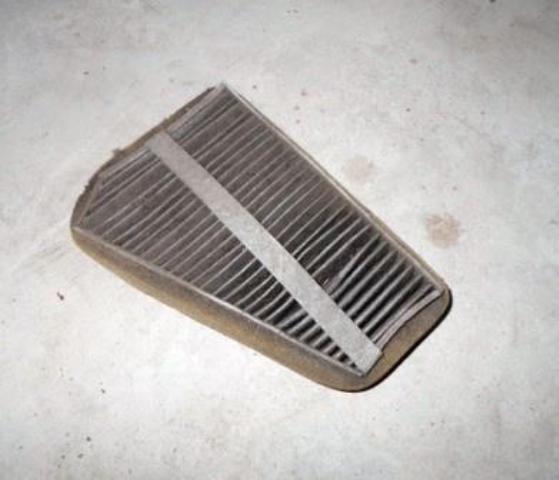 Фото старого фильтрующего материала