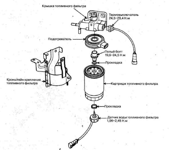 Фото схемы модуля