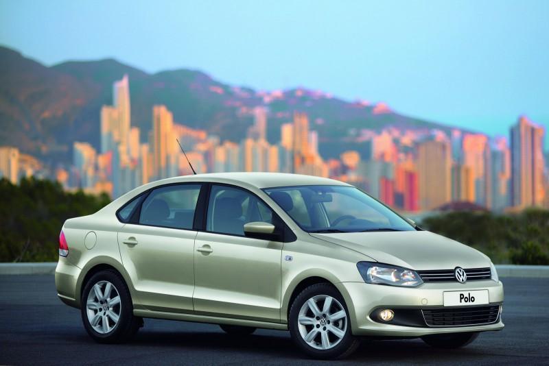 Фото VW Polo Sedan