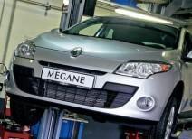 Проводим замену топливного фильтра на Рено Меган 2 и 3