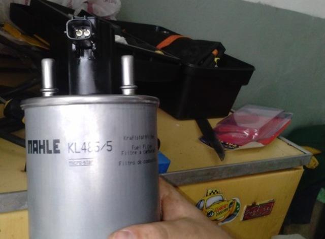 Новый фильтрующий элемент MAHLE KL 485/5