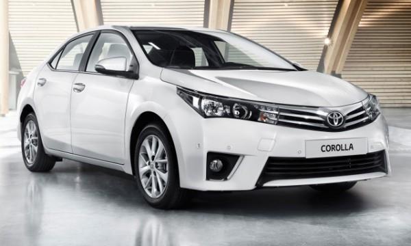 Toyota Corolla 2014 года выпуска