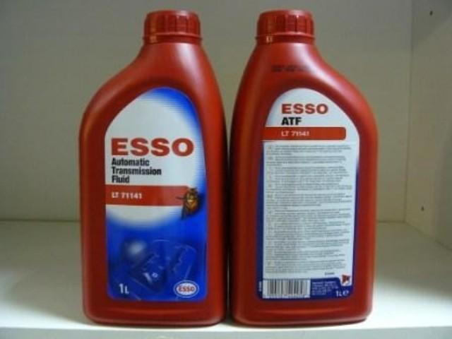 Рекомендованная смазывающая смесь Esso ATF LT 71141