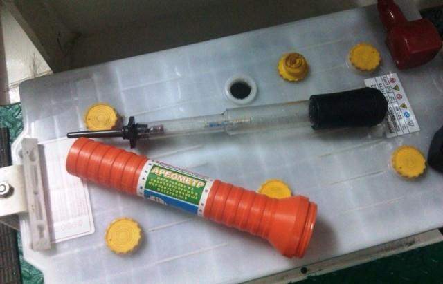 Ареометр - прибор измерения концентрации ОЖ