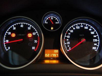 Панель управления Opel Astra H