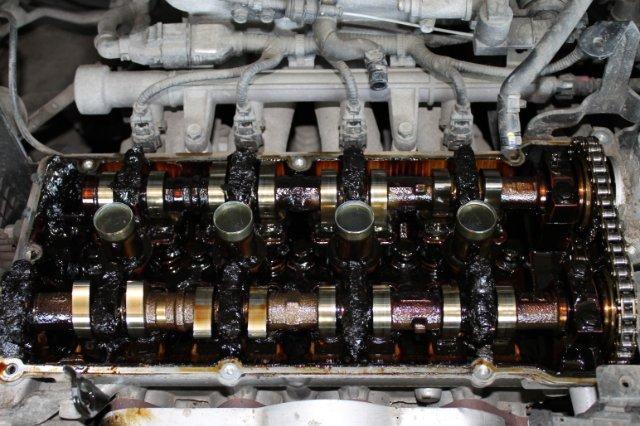 Нагар и отложения в двигателе - последствия использования некачественного масла