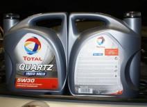Масло Тотал Кварц 9000 5W-30: отзывы и особенности