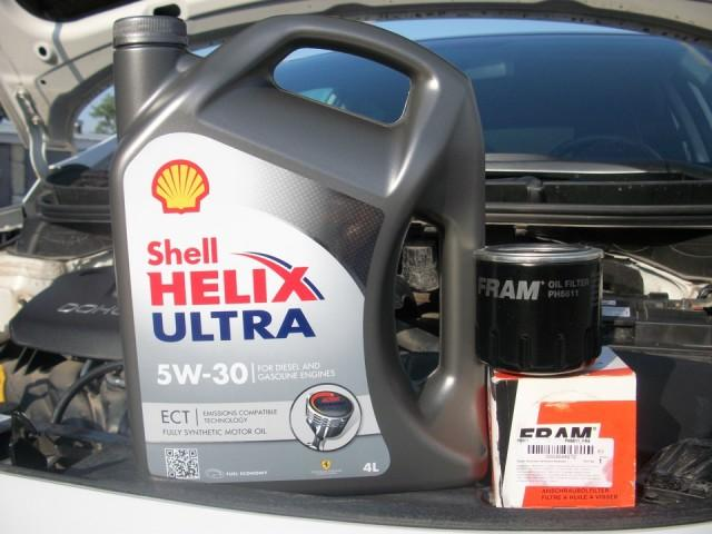 Моторное масло Shell Helix Ultra 5w30