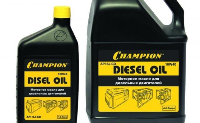 Марка дизельного масла от компании Чемпион