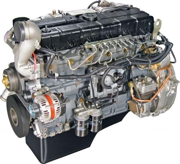 Модель двигателя на тяжелом топливе