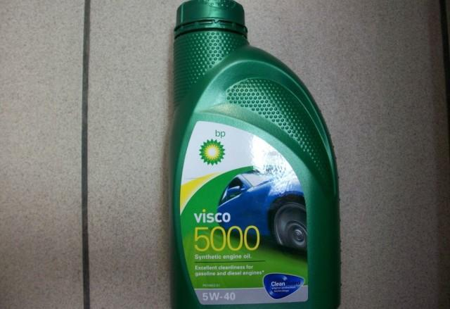 Моторная жидкость Visco 5000 в литровой упаковке