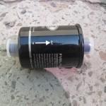 Так выглядит новый топливный фильтр