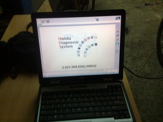 Диагностика авто Honda при помощи специального ПО