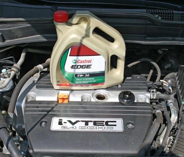 Моторная жидкость Кастрол непригодна для использования в автомобилях Хонда