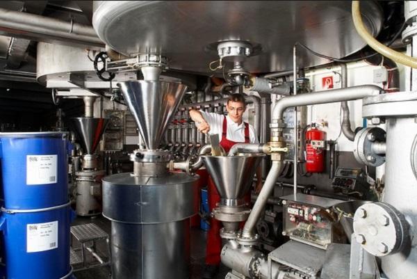 Процесс производства смазывающих веществ