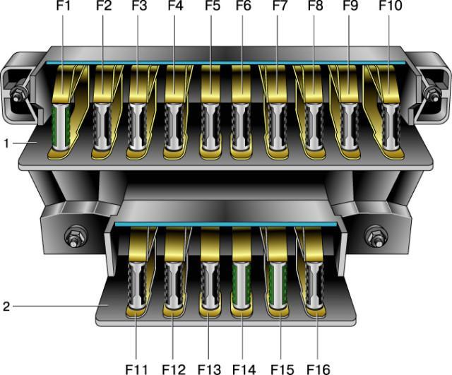 Электросхема БП для Нивы