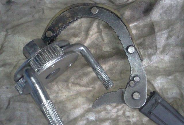 Ключи для съема старых фильтров