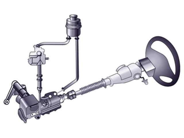 Система гидроусилителя руля