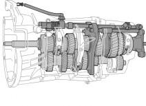 Как устроена КПП МАЗ с делителем?