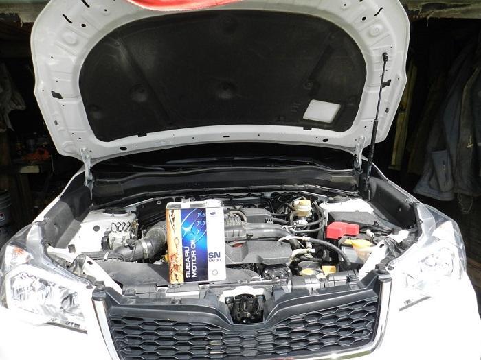 Замена смазки в двигателе