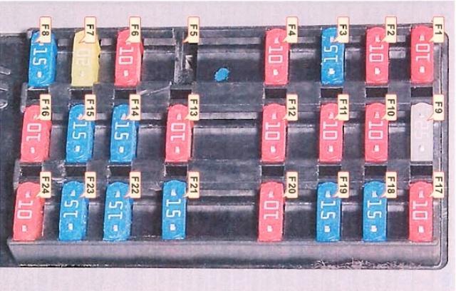 Блок электропредохранителей