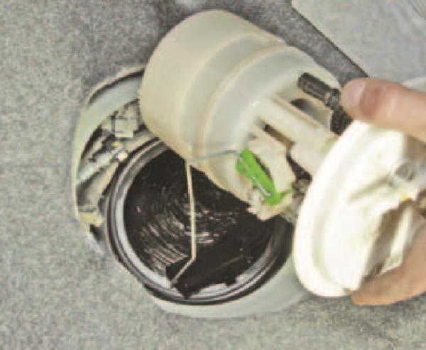 Изъятие агрегата под наклоном