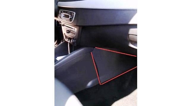 Красным треугольникам отмечена пластина, которую нужно снять
