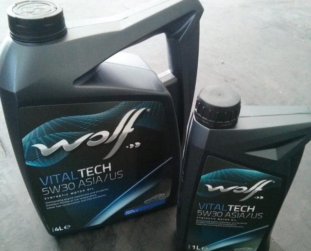 Моторное масло Wolf VitalTech 5W-30