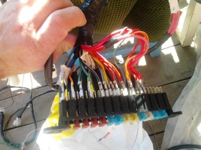 Блок с электропредохранителями