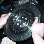 Демонтируйте компонент и очистите его от замасливания