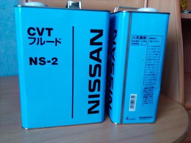 Масло для вариаторной коробки передач Nissan - в агрегаты CVT автомобилей этой марки следует заливать только такое трансмиссионное масло