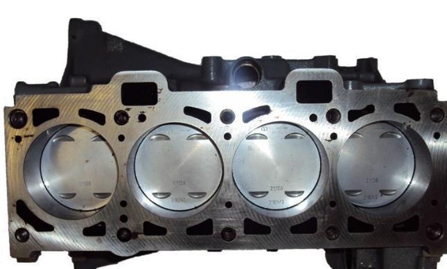 Блок цилиндров автомобиля ВАЗ