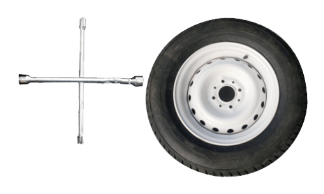 Ключ для демонтажа колеса