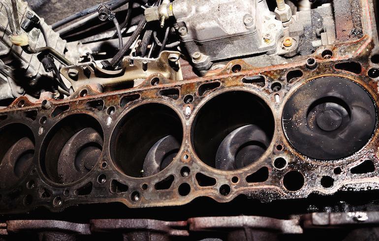 Нагар внутри двигателя