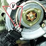 Закоротите провода, как указано в инструкции