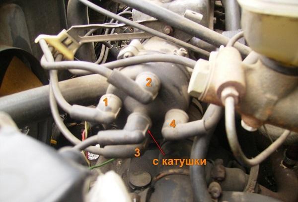 Podklyuchenie vysokovoltnyh provodov - Ход поршня ваз 2109