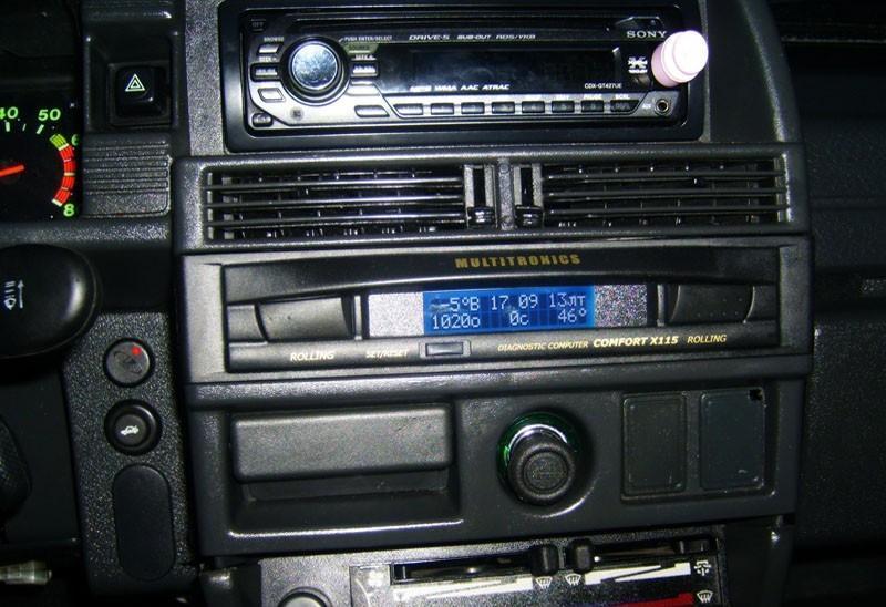 Бортовой компьютер Comfort X114