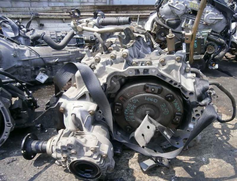 Вариаторный агрегат Ниссан Мурано в демонтированном виде