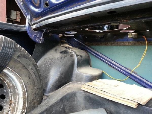 Otkrytyj bagazhnik avtomobilya - Установка задних ремней безопасности на ваз 21099
