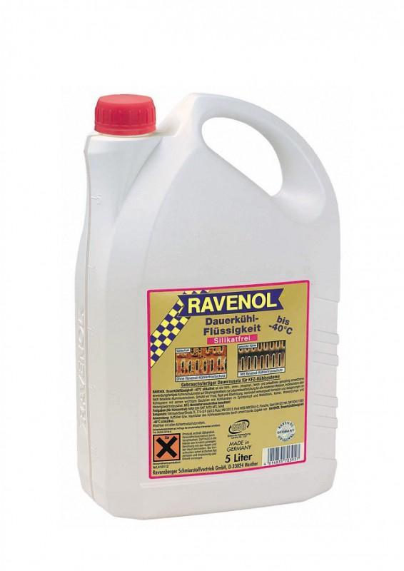 Красная ОЖ фирмы Ravenol