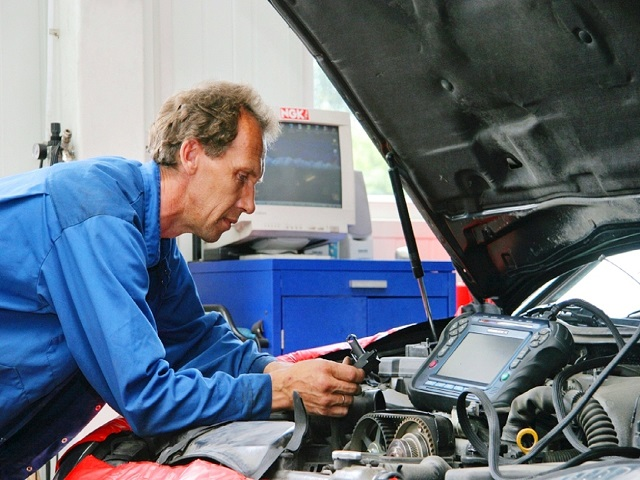 Диагностика работы двигателя