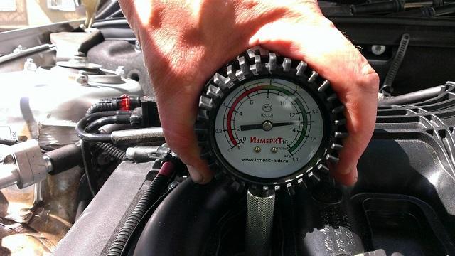Измерение давления в цилиндрах
