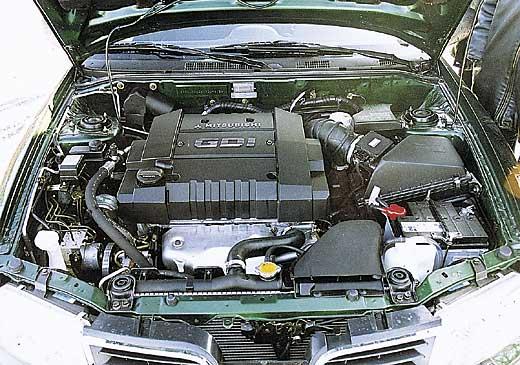Двигатель внутреннего сгорания GDI