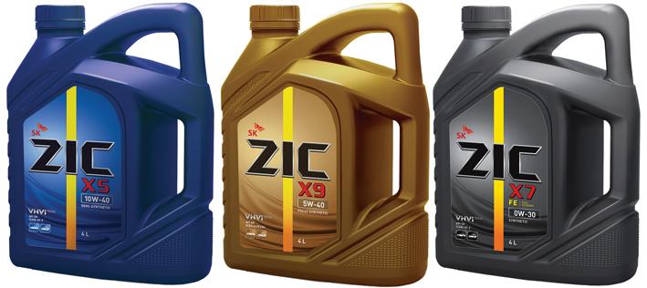 Моторные жидкости Zic в новых канистрах