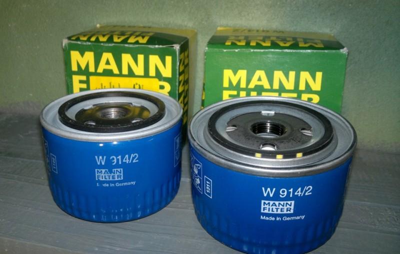 Масляный фильтр производства Mann для отечественных автомобилей